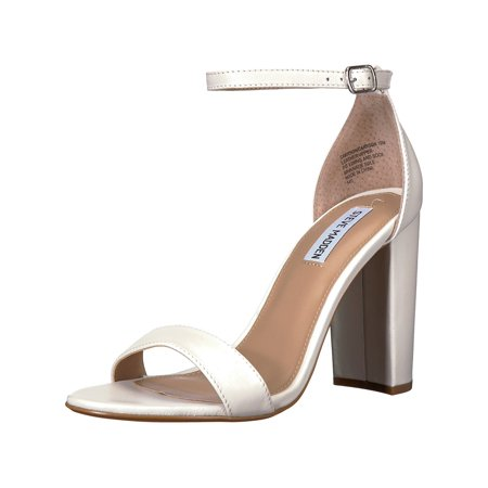 Steve Madden Womens Carrson Suede Open Toe Special Occasion Ankle Strap Sandals ()