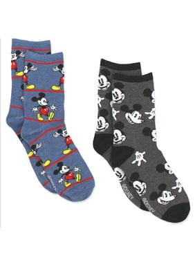 76a478b69b4 Product Image Mickey Mouse Women 2 pack Socks (Big Kid Teen Adult)  MK066JCC. Disney