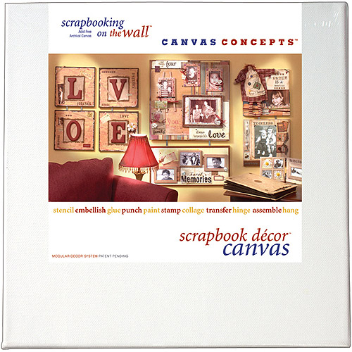 Canvas Concepts Fancy Back Decor Canvas, 2-Pack