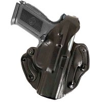 DeSantis Left Hand Black Thumb Break Scabbard Holster, S&W MP 9/40, 45C