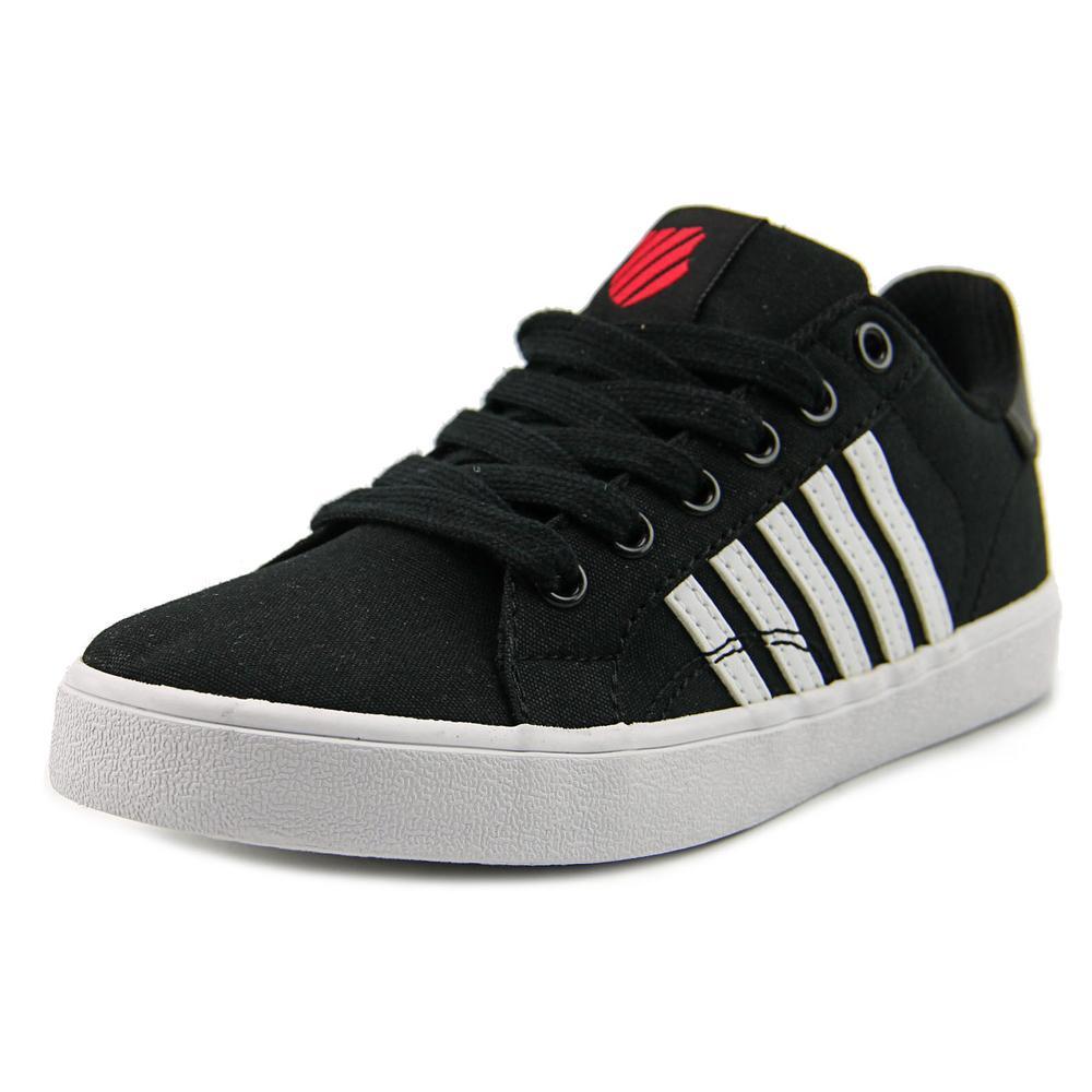 K-Swiss Belmont Youth Round Toe Synthetic Black Sneakers by K-Swiss