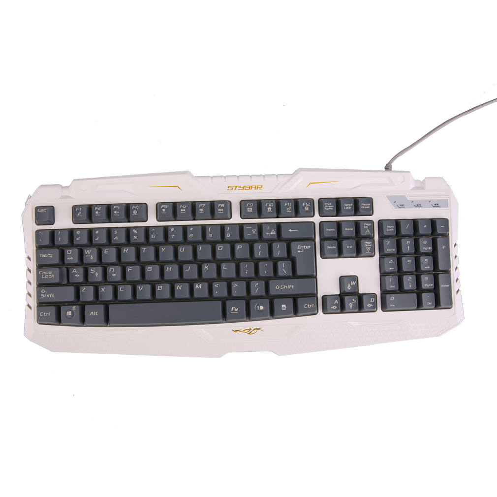 Backlit Keyboard Ergonomic USB Wired Gamer LED Gaming Keyboard Quality