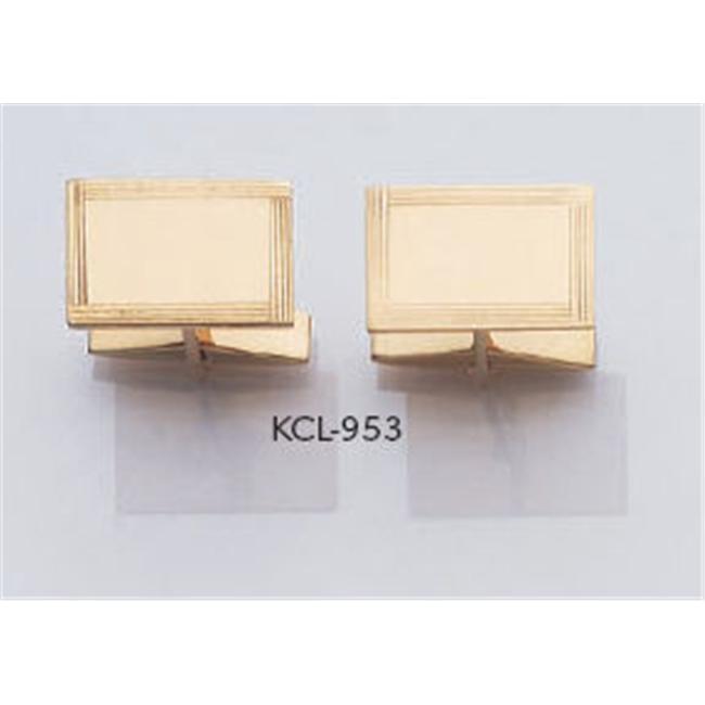 Legere KCL-953 14 Kt.  Gold Cuff Links