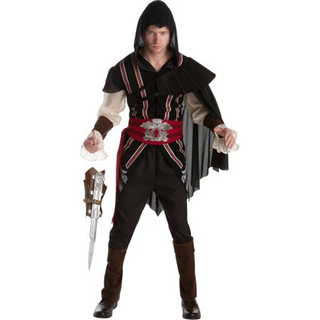 Assassin's Creed II Ezio Auditore Assassin Classic Mens Costume Bundle](Assassins Creed Halloween Costume)