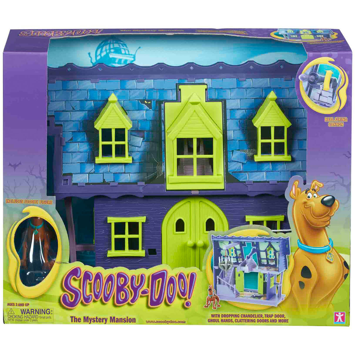 Scooby Doo Mystery Mansion Playset SCD01977