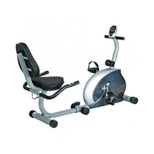 Sunny Health Fitness Magnetic Recumbent Exercise Bike for...
