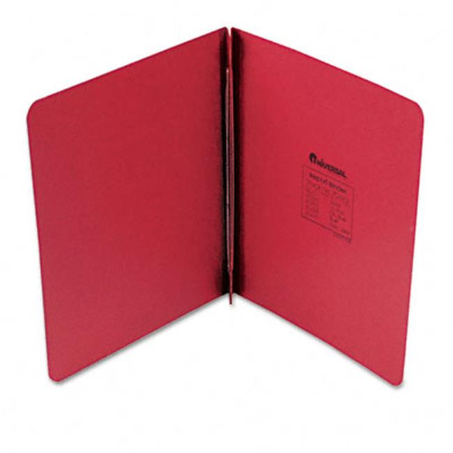 Pressboard Report Cover  Prong Clip  Letter  3'' Capacity  Executive Red