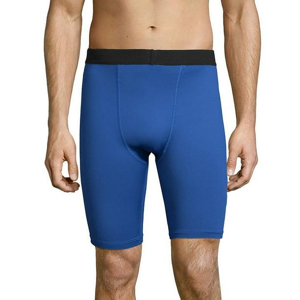 2 Hanes Sport™ Men/'s Performance Compression Shorts O5940