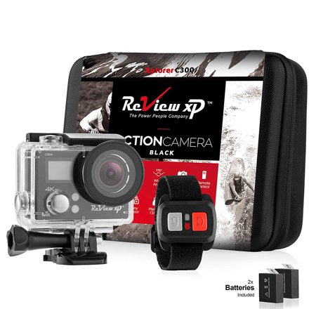 Review XP C300 Action Camera 4K 16MP Ultra HD Sports Waterproof Wi Fi 170 Wide Angle Lens DV Digital Camcorder