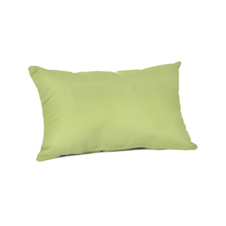 Sunbrella Rectangle 20 x 13 in. Throw Pillow - Canvas Parrot