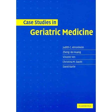Case Studies in Geriatric Medicine - Walmart com