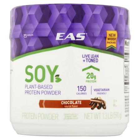 EAS ® soya au chocolat végétalien poudre de protéine de 1,3 lb Canister