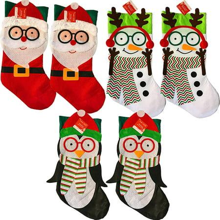 Holiday Santa Stocking (19