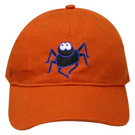 City Hunter C104 Halloween Big Spider Cotton Baseball Caps - Orange](Halloween City Printable Coupons)