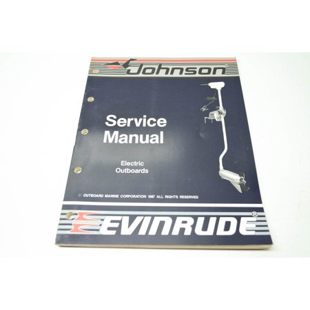 (Johnson 507658 'CC' Electric Outboard Service Manual QTY 1)