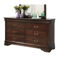 Ashley Furniture Alisdair Dresser Dark Brown