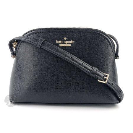 NEW WOMENS KATE SPADE (WKRU5662) PATTERSON DRIVE PEGGY DOME SMALL CROSSBODY BAG (Black)