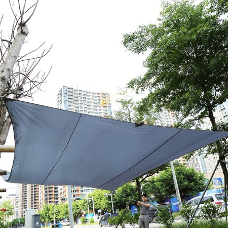 Herchr Outdoor Awning Canopy Large Tarp Shelter Sun Shade