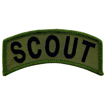 U.S. Army Scout Patch Green 3 1/2