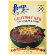 Pioneer Brand Gluten Free Chili Seasoning 1 oz. Packet