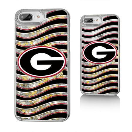 huge selection of 9504a 25cac UGA Georgia Bulldogs Wave Glitter Case for iPhone 8 Plus / 7 Plus / 6 Plus