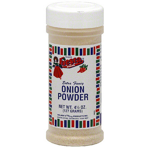 Fiesta Brand Onion Powder, 4.5 oz (Pack of 6)