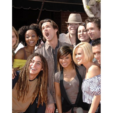 Jim Carrey Jenny Mccarthy American Idol Top 12 Finalists At Arrivals For Premiere Of Horton Hears A Who Manns Village Theatre In Westwood Los Angeles Ca March 08 2008 Photo By Michael Germanaeverett C