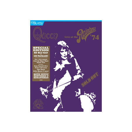 QUEEN-LIVE AT THE RAINBOW 74 (BLU-RAY) (Blu-ray)