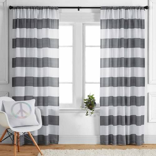 Better Homes & Gardens Stripes Curtain Panel