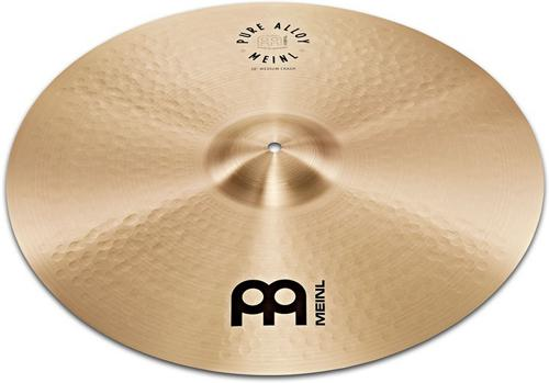 "Meinl Cymbals 20"" Pure Alloy Traditional Medium Ride Cymbal by"