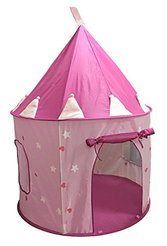SueSport Girls Pink Princess Castle Play Tent Children Play Tent for Girls Glow in  sc 1 st  Walmart : girl play tent - memphite.com