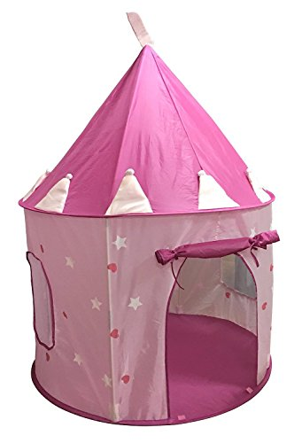 SueSport Girls Pink Princess Castle Play Tent Children Play Tent for Girls Glow in  sc 1 st  Walmart & SueSport Girls Pink Princess Castle Play Tent Children Play Tent ...
