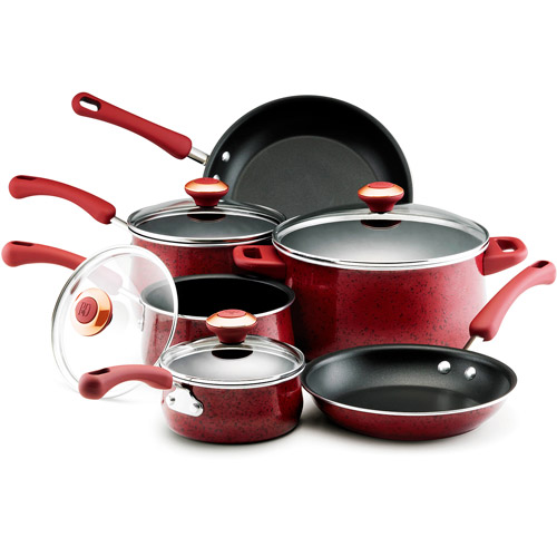 Paula Deen 10-Piece Non-Stick Cookware Set