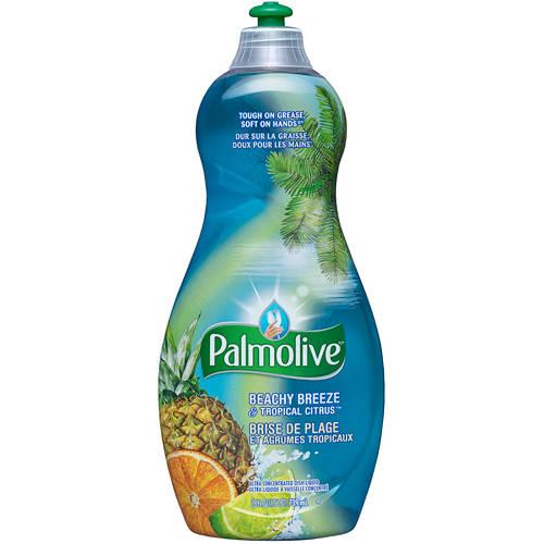 Palmolive Beachy Breeze & Tropical Citrus Dish Liquid, 25 oz