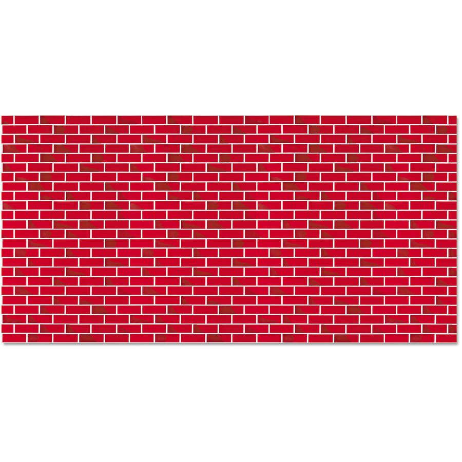 Pacon Fadeless Designs Bulletin Board Paper, Brick, 50 ft x 48""