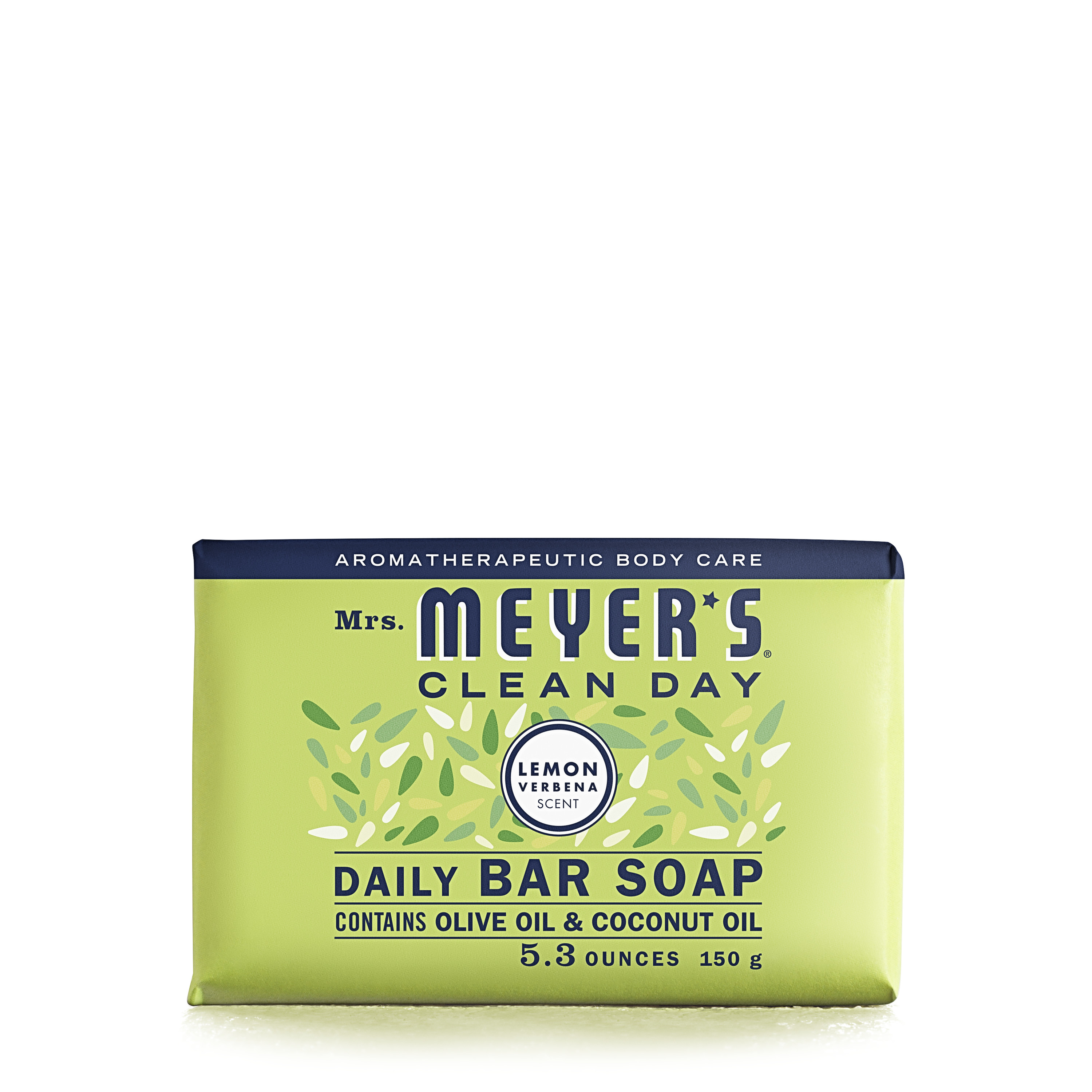 Mrs. Meyer's Clean Day Bar Handsoap, Lemon Verbena, 5.3 Oz