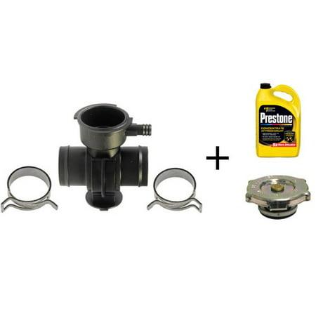 Radiator Cap Tester - Dorman 902-305 Coolant Filler Neck w/ Coolant and Radiator Cap Bundle