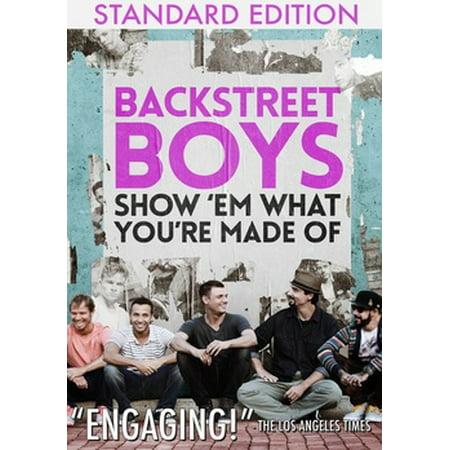 Backstreet Boys: Show 'Em What You're Made Of (DVD) - Backstreet Boys Halloween Song