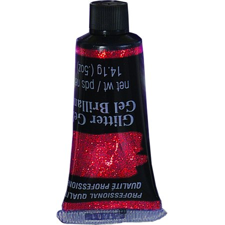 Russell Brand Costume For Halloween (Deluxe Red Glitter 0.5 Ounce Tube Halloween Costume)