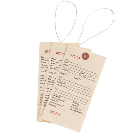 Oregon 10 002 Service Tags 500 Count Perforated
