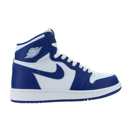 Nike Kids Air Jordan 1 Retro High Og Gs Kentucky Storm Blue