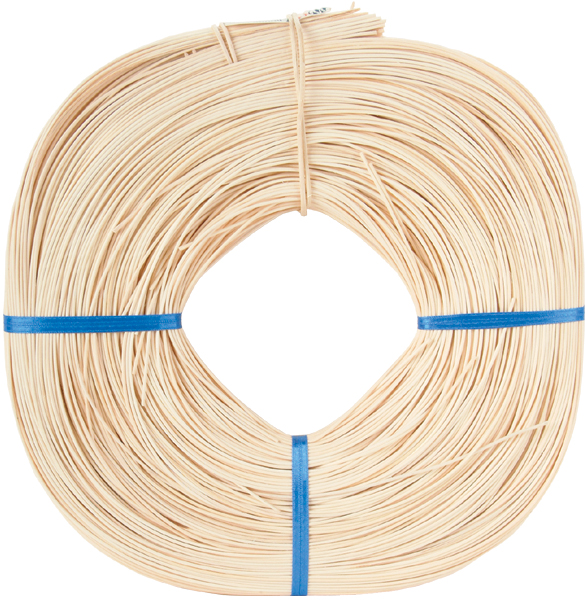Round Reed #3 2.25mm 1 Pound Coil, Approximately 750'