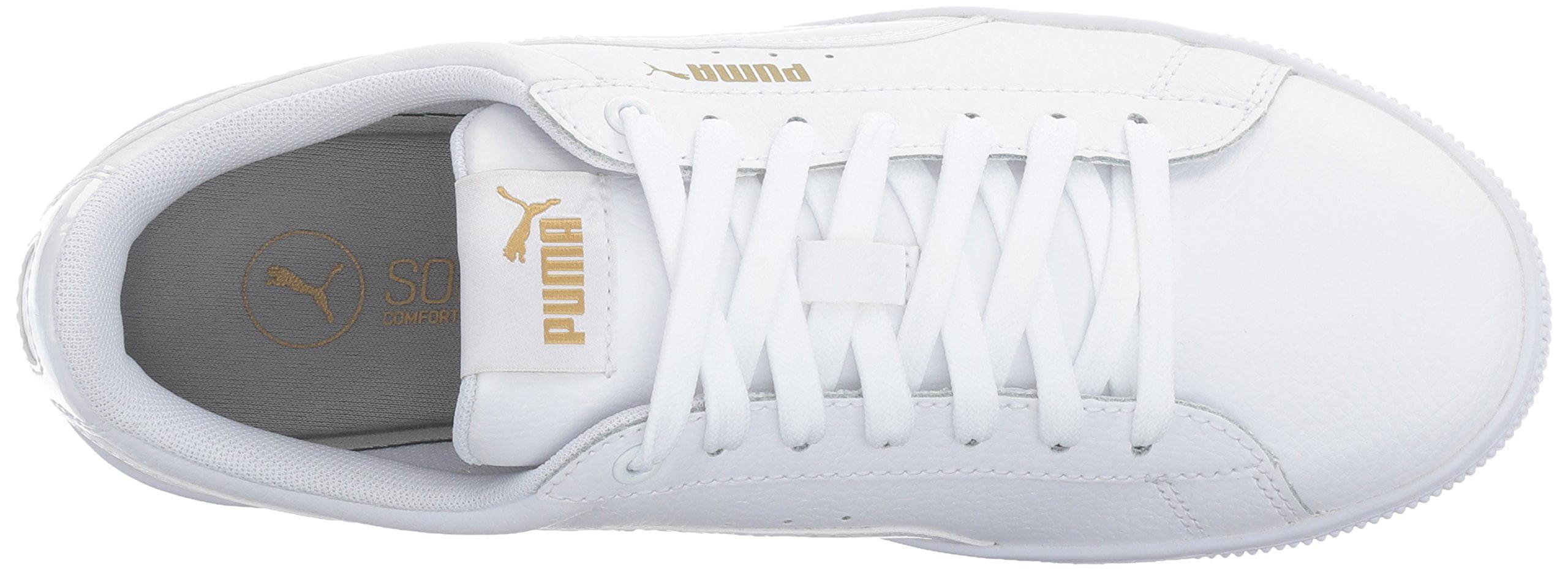 3691ce9fd11 PUMA - PUMA 364724-01   Women s Vikky Platform Leather Sneaker White (6 B(M)  US) - Walmart.com