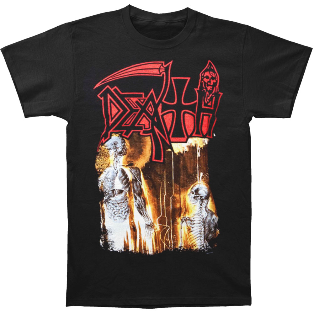 Death Men's  Human T-shirt Black
