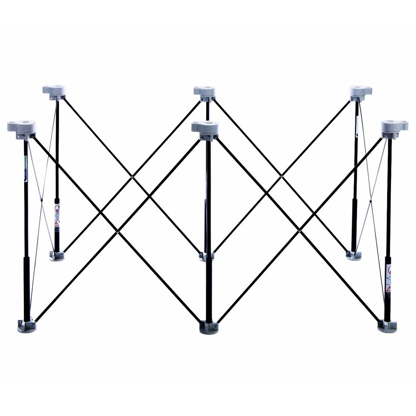 Centipede Tool K100 6 Strut Expandable 2 x 4 Foot Portable Sawhorse Work Support by Centipede Tool