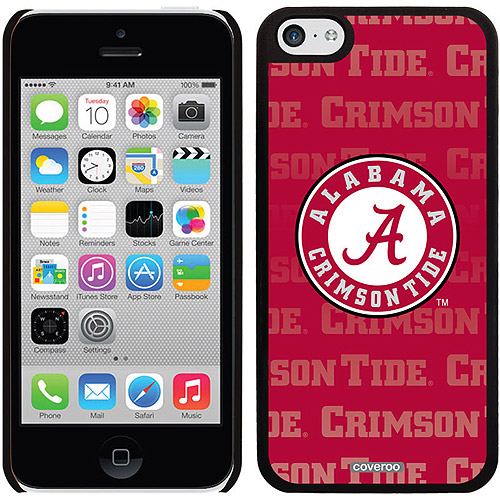 Coveroo Alabama Repeating Design Apple iPhone 5c Thinshield Snap-On Case