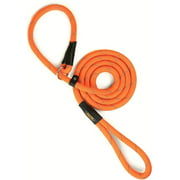Mighty Paw Slip Rope Dog Leash, 6 ft, One-Size-Fits-All, Slip-On Rope Leash. Easy to Slip On, No Collar or Harness Needed. Durable & Weather Resistant Climbers Rope with Reflective Stitching