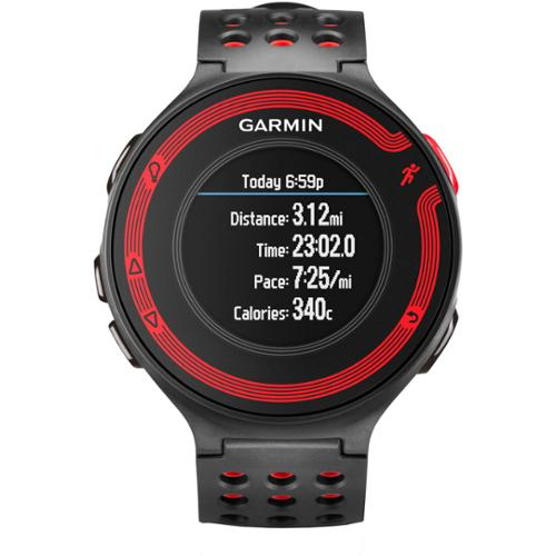 Forerunner 220 Black/Red GPS Fitness Watch