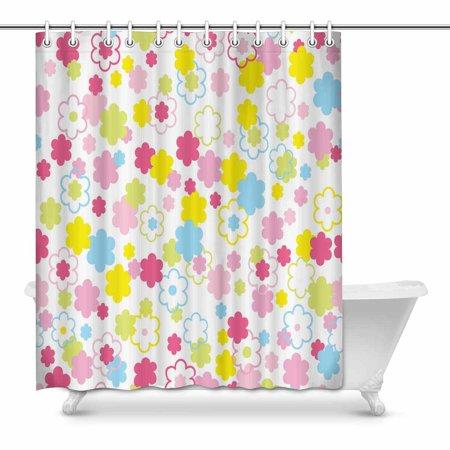 Mkhert Spring Cute Tiny Bathroom Shower Curtain 60x72 Inch Walmart Com
