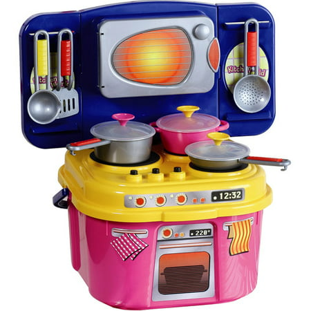 My first kitchen cookware play set for First kitchen set